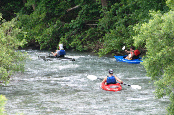 Upper Buffalo River Floating