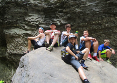 Hiking in the Upper Buffalo River